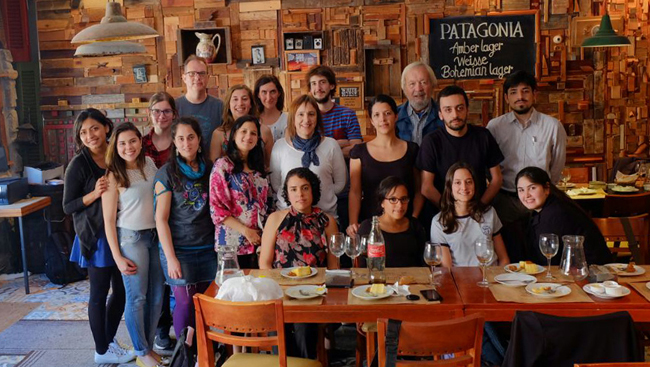 The LATP Fellows and program faculty in Montevideo, Uruguay, where the 2016 course took place.