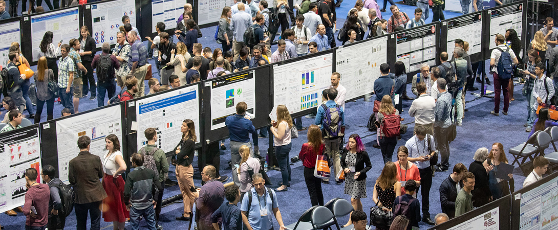 an image of the poster floor at Neuroscience 2018
