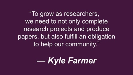 Quote from Kyle Farmer