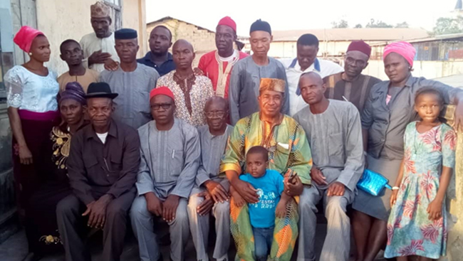 Interactions with an Igbo group in Nigeria.