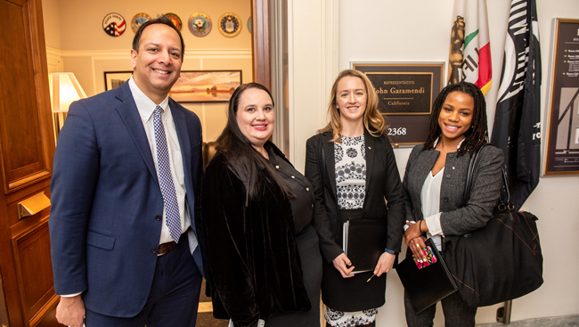 SfN representatives at Capitol Hill Day 2019
