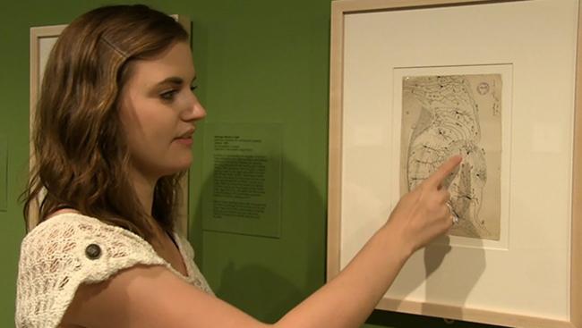 Samantha Baglot examines neuroscience art