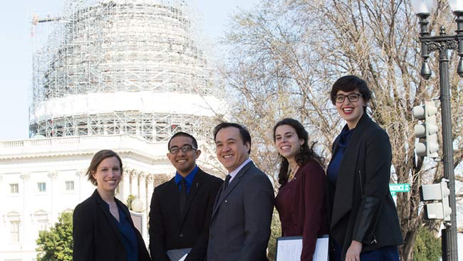 Rahul Patel attends SfN's Capitol Hill Day.