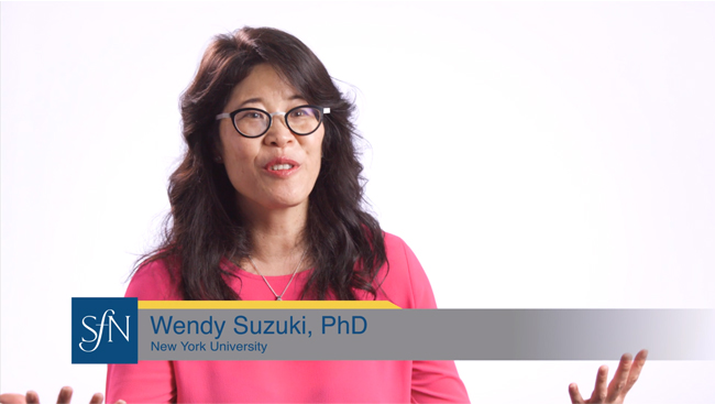 Wendy Suzuki discusses impostor syndrome