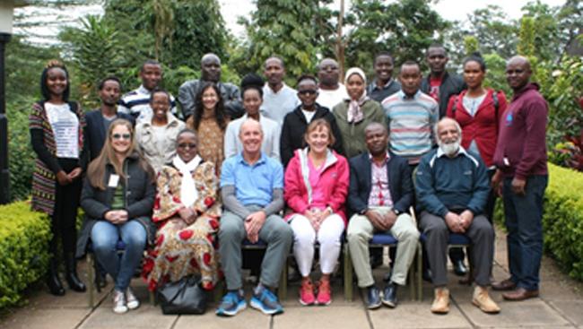 Photo from the 2018 IBRO-Africa summer school in Nairobi, Kenya
