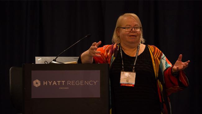 Eve Marder talks at Neuroscience 2015