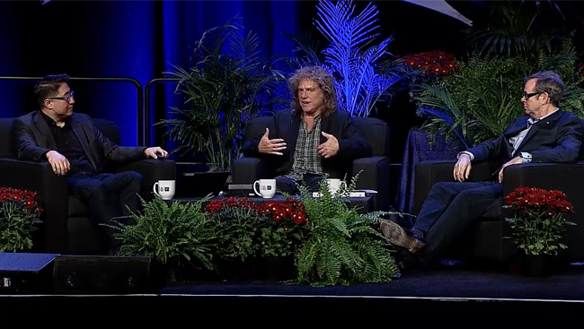 Pat Metheny discusses music and the brain at Neuroscience 2018