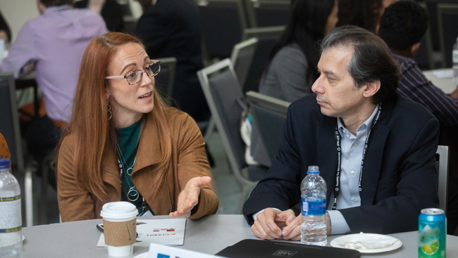 Table discussion at the Neuroscience Departments and Programs Workshop during Neuroscience 2018