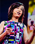 Fei-Fei Li speaking