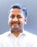 Headshot of Karthik Shekhar.