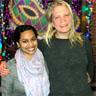 Image of judy prasad and briana carrol standing together.